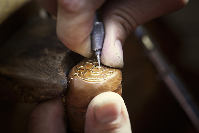 Fabrication d'un bracelet Gemografic
