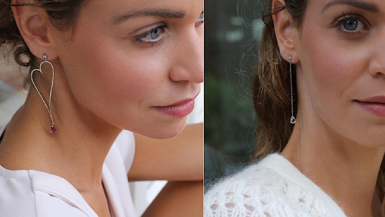 Boucles d'oreilles Gemografic Joaillerie