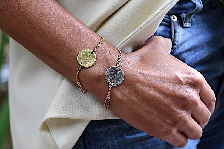 bracelets personnalisés gravés gemografic