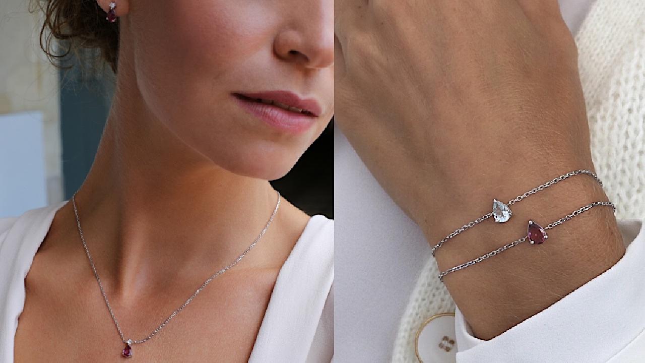 bracelet et collier Gemografic