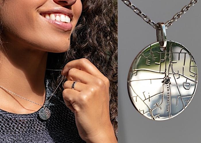 bijoux médaille gravée gemografic