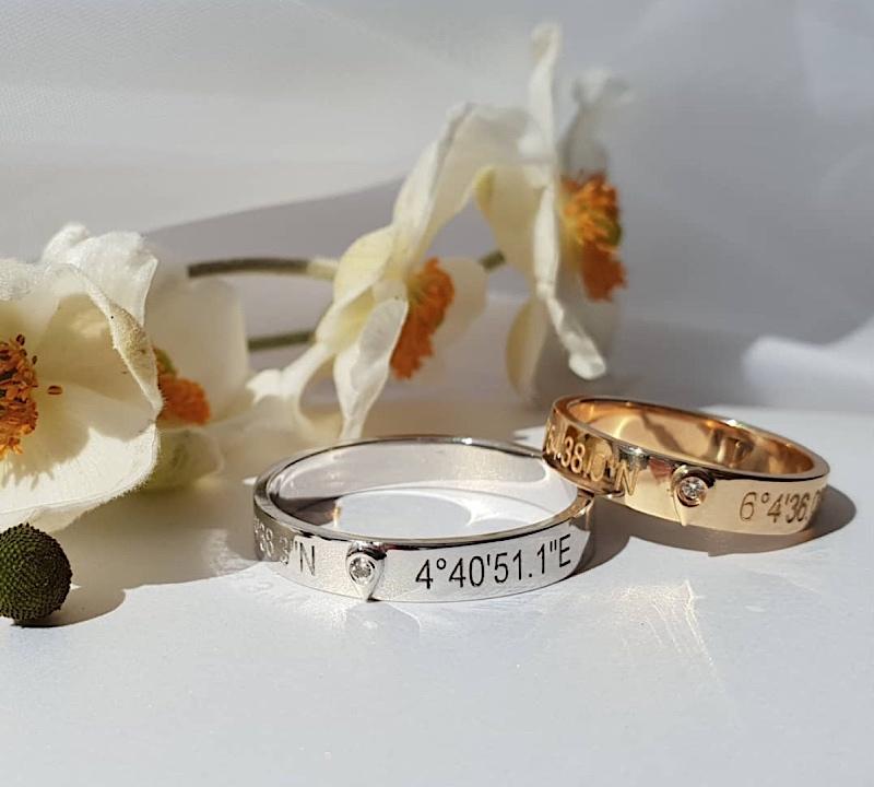alliances de mariage gemografic