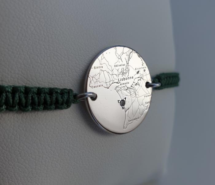 bijoux gravés collection Wander Gemografic