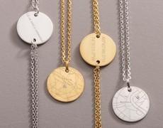 """Saint Valentin: géo-localiser ses secrets d'amour avec les bijoux de la nouvelle collection """"Wander"""""""