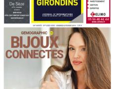 Bijoux Gemografic font la couverture de Les Echos Girondins