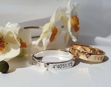 Des bagues de fiançailles ou alliances de mariage personnalisées et uniques grâce à Gemografic