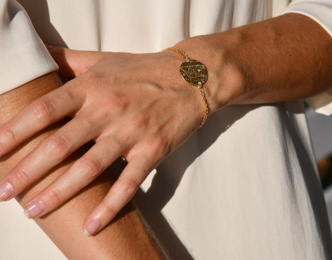 Bracelet Chaine Or jaune