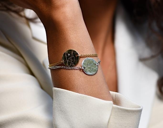 Bracelets femme gravés